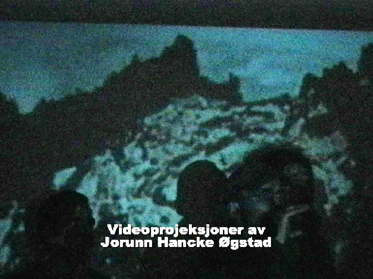 Jorunn Hancke Øgstad: video projection