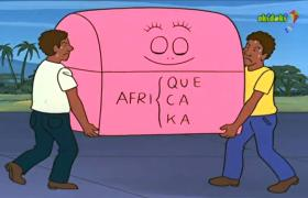 Barbapappa travels to Africa