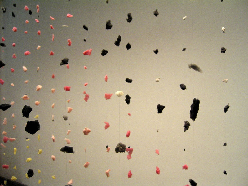 Sweetmeat 1 (2004), detail, installation by Marte Johnslien, ©Marte Johnslien