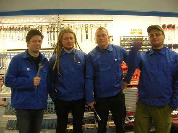 The team of  'An Everyday Improvement' in Kirkenes (2006)