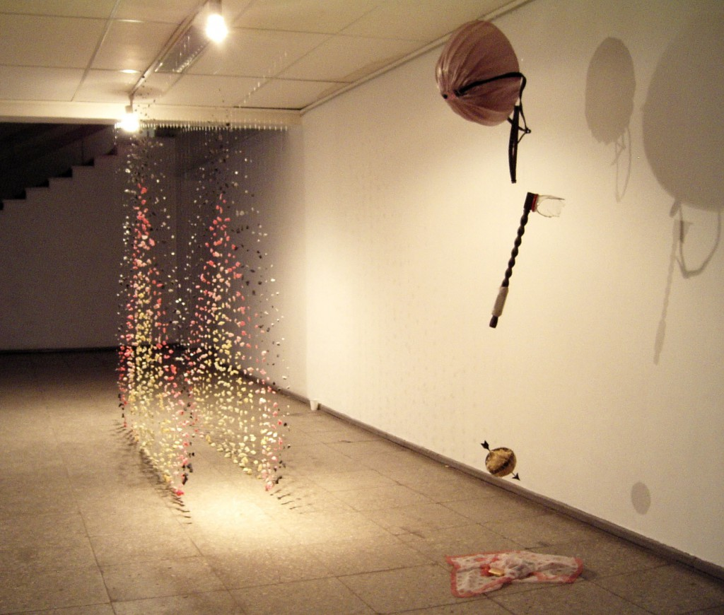 Sweetmeat 1 and Sweetmeat 2 (2004), installation by Marte Johnslien, ©Marte Johnslien