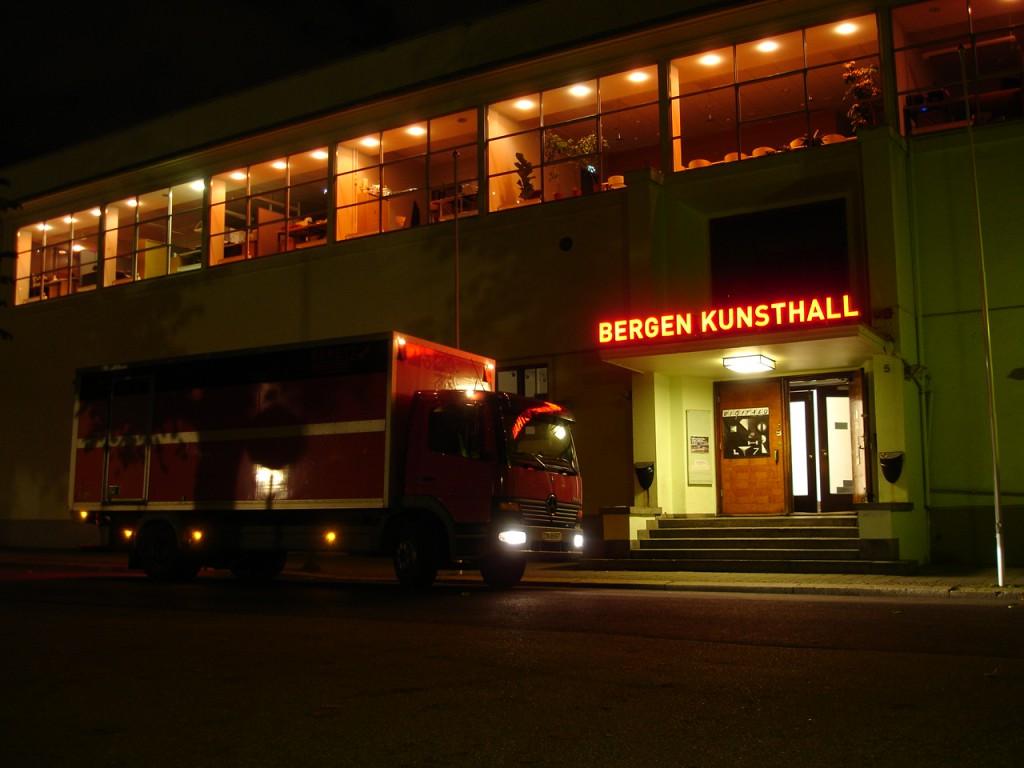 Rakett presents Curating Degree Zero Archive (2007). Location: Bergen Kunsthall. Photo: Rakett