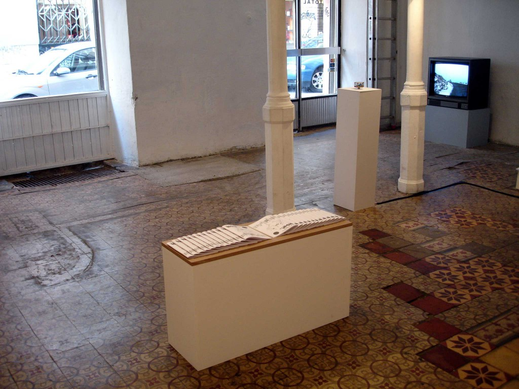 Installation view, Jacqueline Forzelius: Moan special edition and Leander Djønne: Love Kills The Demon