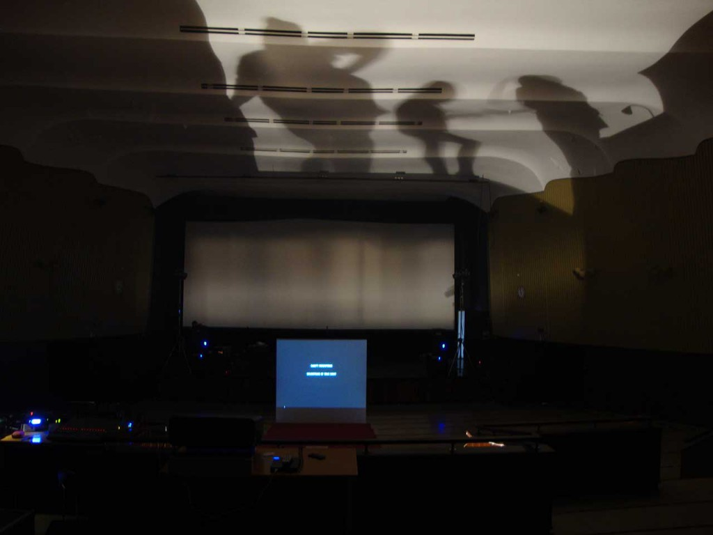 Installation view, Soundtrack of Your Night (2009). Photo: Rakett