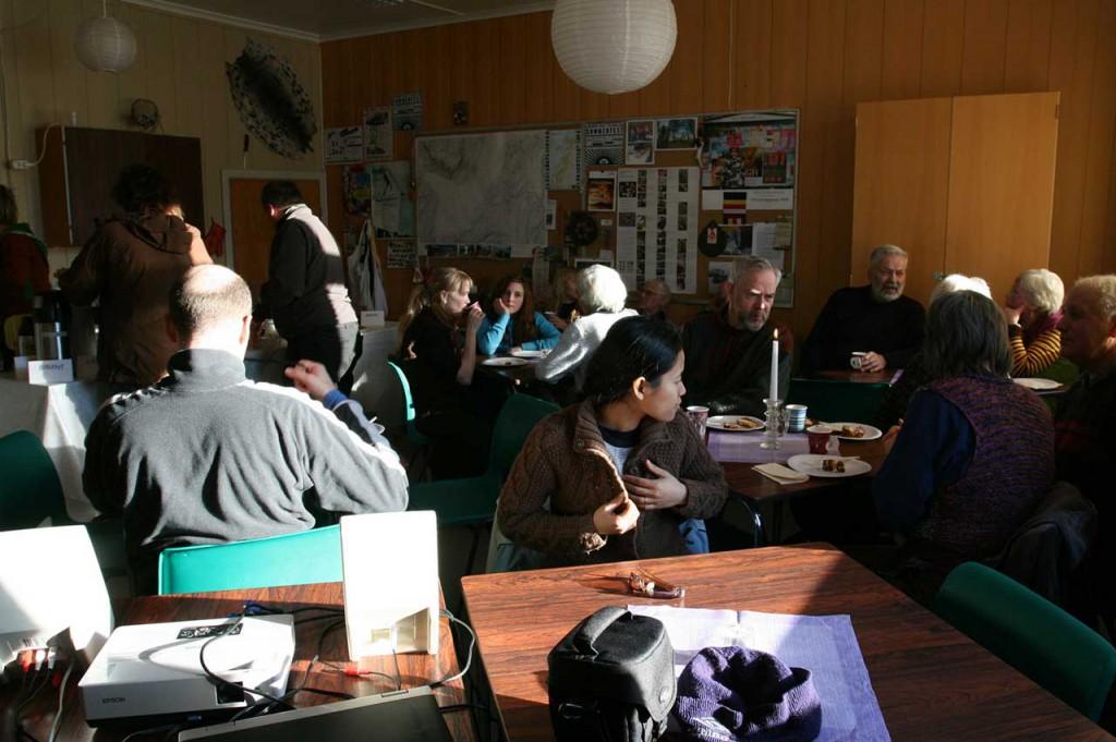 Saturday Café at Sørfinnset skole: Industry. Photo: Rakett