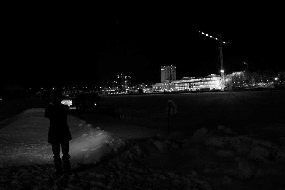 Nightwalk#Umeå with Expodium (2013). Photo: Expodium
