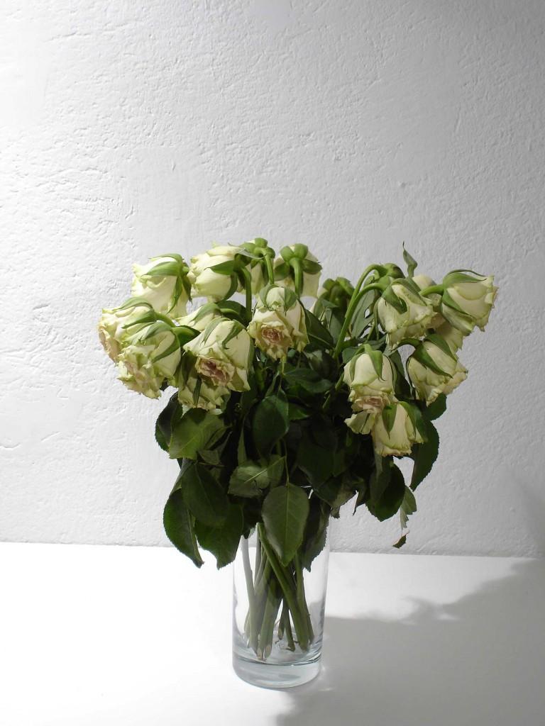 Johanna Gustavsson Fürst, 2005. One week into the exhibition period. Photo: Rakett