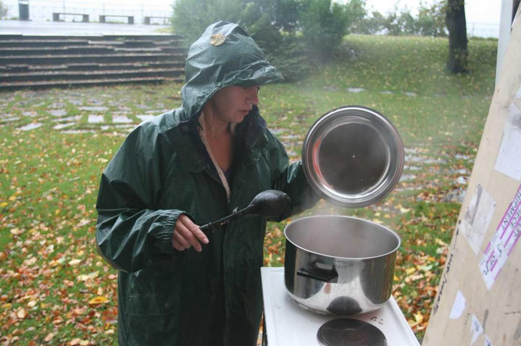 Cooking Degree Zero part of Curating Degree Zero Archive in Bergen, 2007. Photo: Rakett