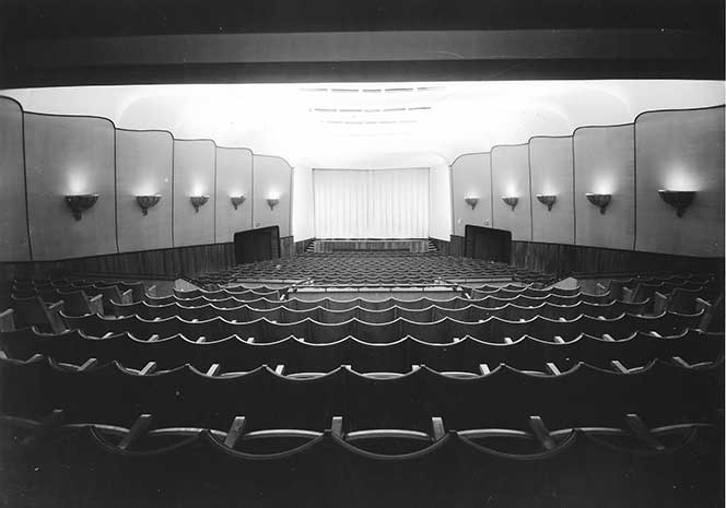 The cinema space in 1950. Photo: Archive material from Kino Kino