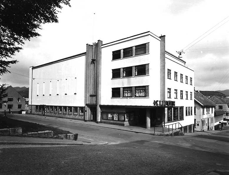 The cinema in 1950. Photo: Archive material from Kino Kino