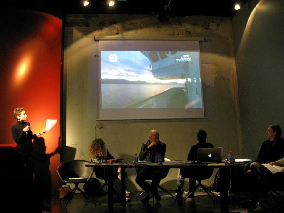 "Panel discussion ""Radical Organisation"" at Palais de Tokyo, 2012."