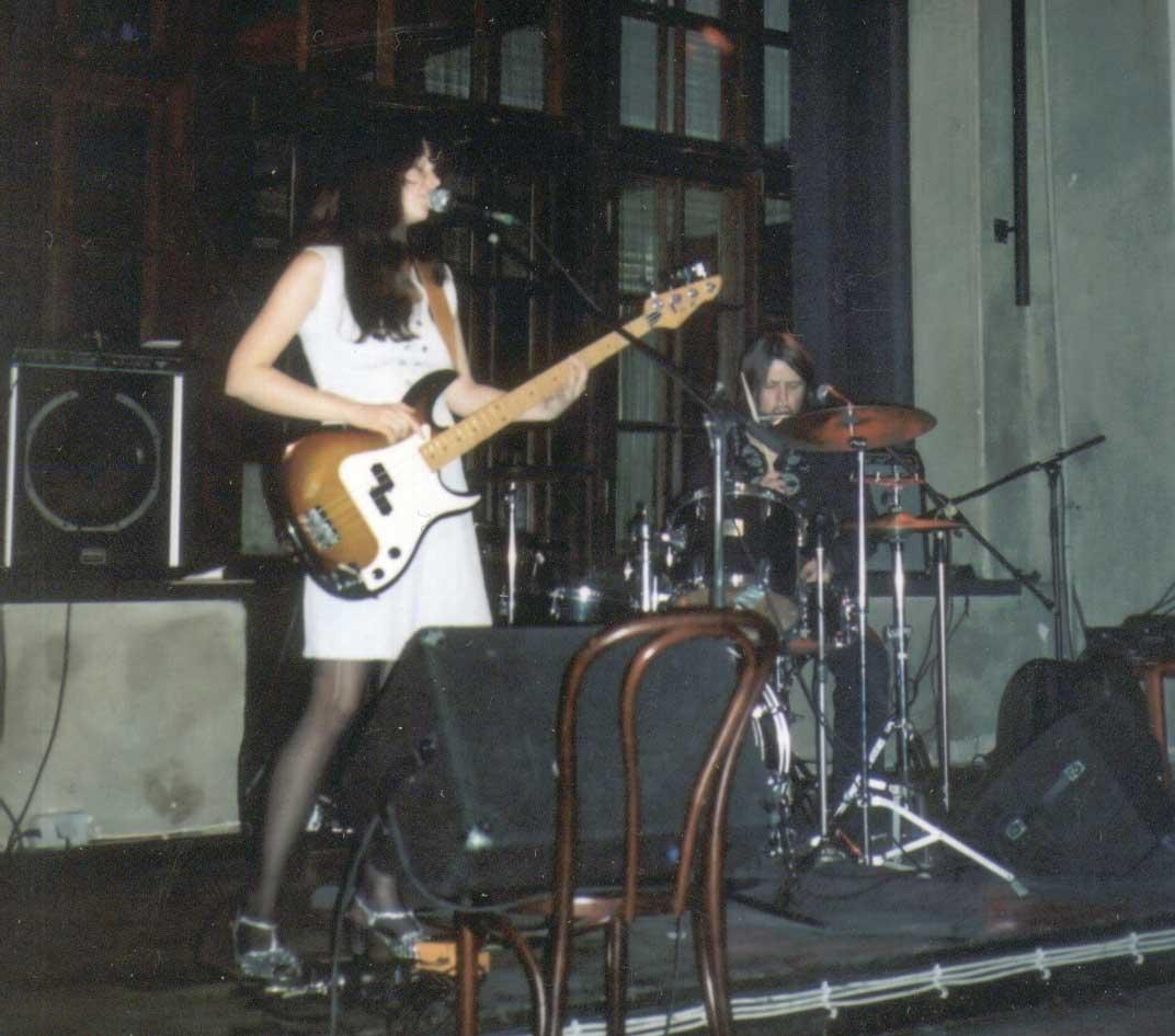 Aurora Plastic Monster live at Von Krahli Baar, Tallinn, 2004.