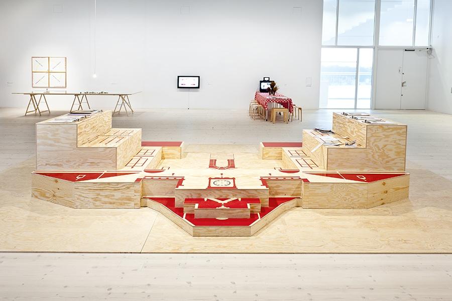 Exhibition view, Communitas, Bildmuseet in 2012, Umeå. Photo: Bildmuseet